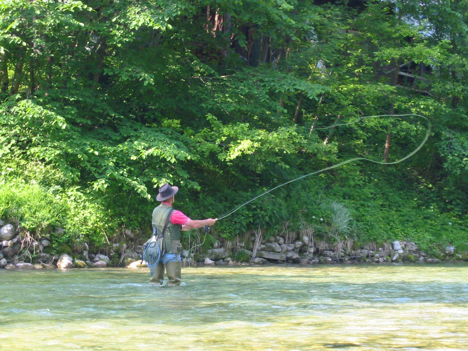 Strategies for Fishing Moving Water